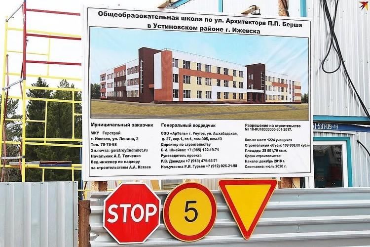 Город расторгает контракт на строительство школы