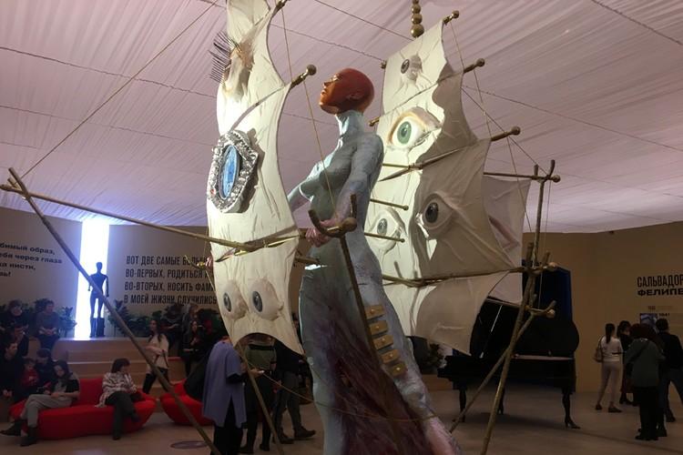 Выставка Сальвадора Дали - самая стильная выставка Москвы