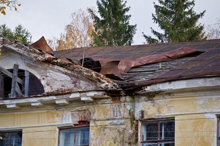 Дворцу требуется серьезный ремонт. Фото: Антон Новиков