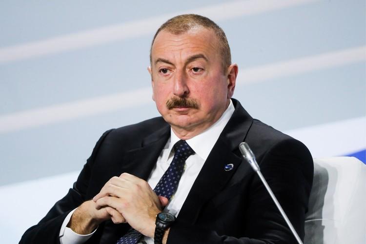 Президент Азербайджана Ильхам Алиев. Фото: Михаил Метцель/ТАСС