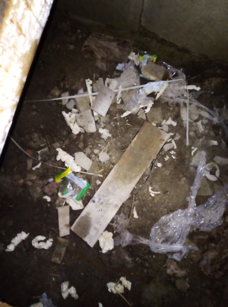 Брошенный строительный мусор. ФОТО: Кстати