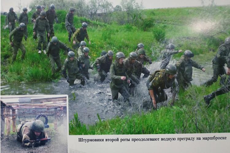 """Фото с учений, где """"Гиви"""" обучал своих бойцов и бегал наравне со всеми"""