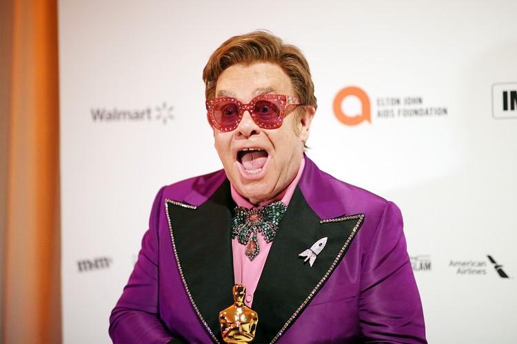 Элтон Джон стал обладателем «Оскара» за саундтрек к «Рокетмену»