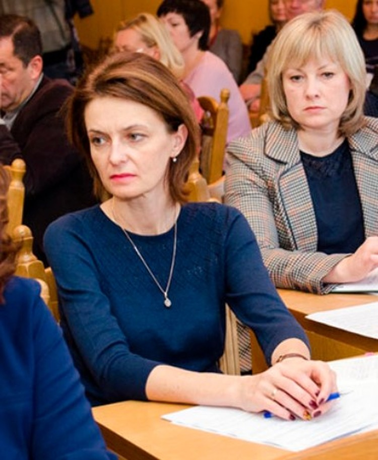 Елена осадчая посетила Крымский федеральный университет. Фото: пресс-служба КФУ