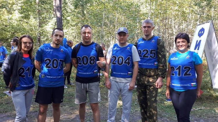 В команде спортсменов. Фото: СУ СО СК РФ по Тюменской области