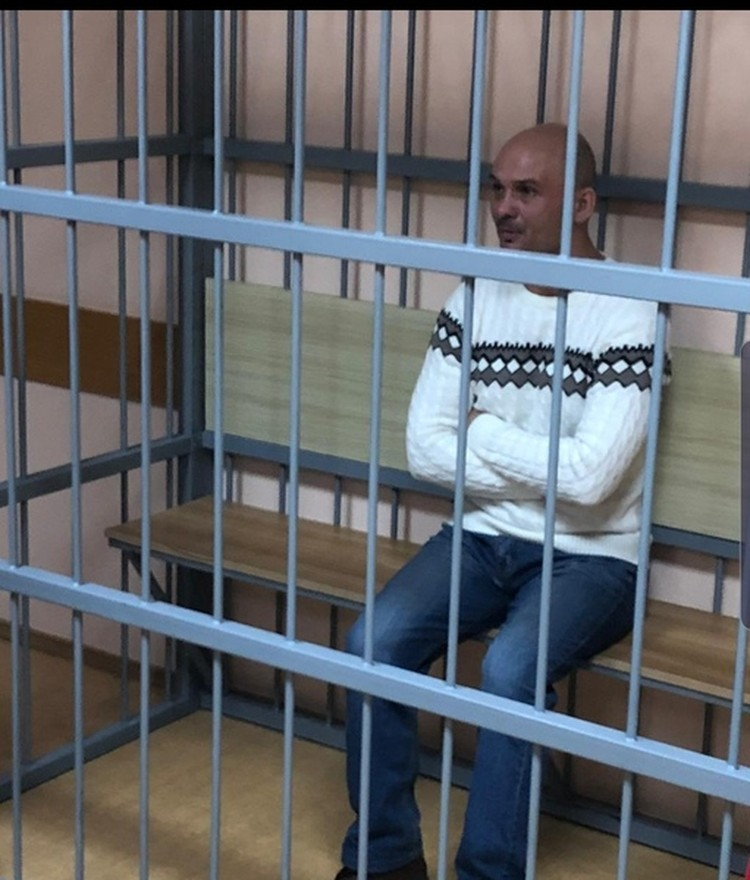 Суд задержал Виктора Гаврилова почти на 2 месяца. Фото Дениса Меркулова