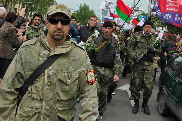 Таким я увидела Скифа в 2014 году в День Победы на площади Ленина. Тогда я еще не знала, кто такой Скиф.