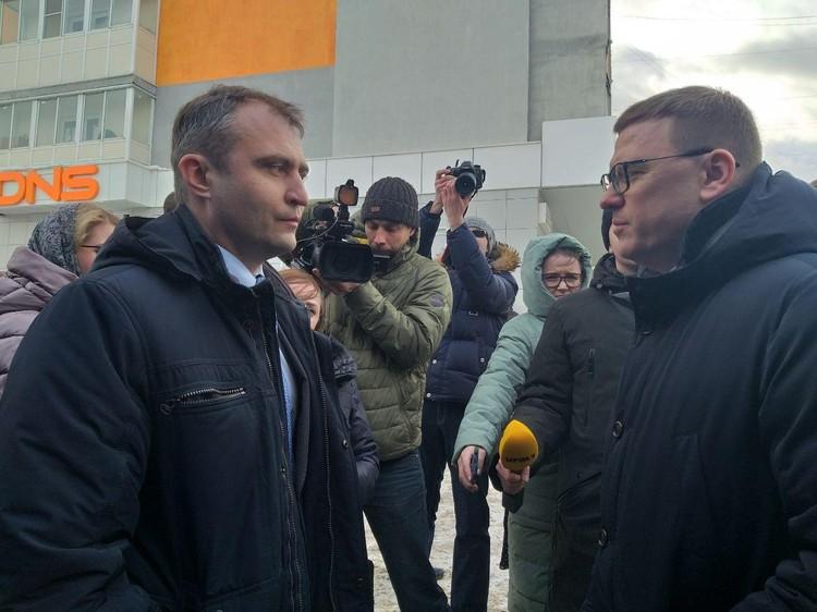 Дмитрий Григорчик, депутат от района, один из самых активных жителей.
