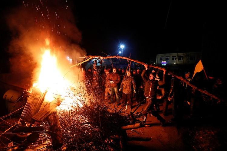Местные жители грозили сжечь санаторий