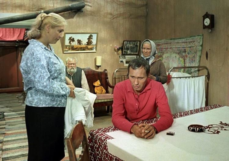 Шукшин и Заболоцкий сняли вместе «Калину красную». Фото: Кадр из фильма