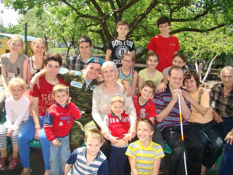 Татьяна Васильенва любит, когда семья собирается вместе.