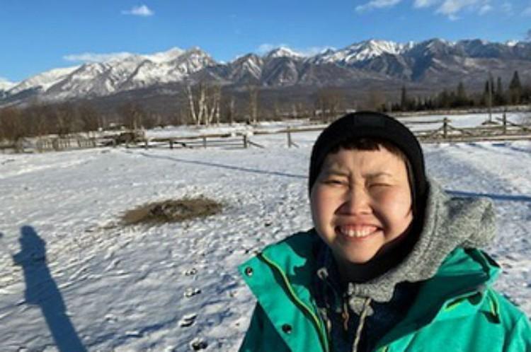 Зоя живет в зимовье уже две недели. Фото: личный архив Зои Ангареновой