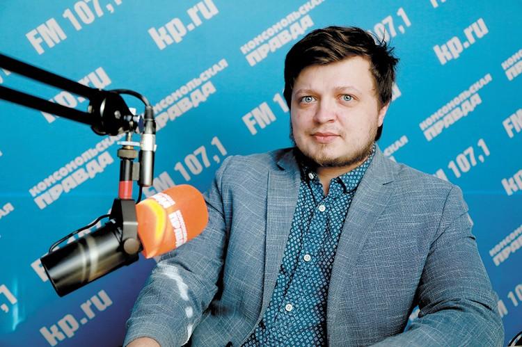 Сотрудник Касьяновского дома Юрий Пасхальский.