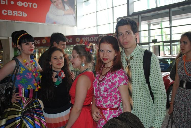 Юра и Катя в школьные годы