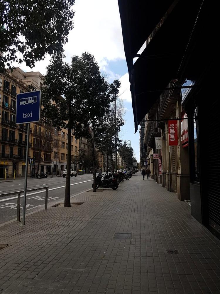 Испанские улицы во время карантина
