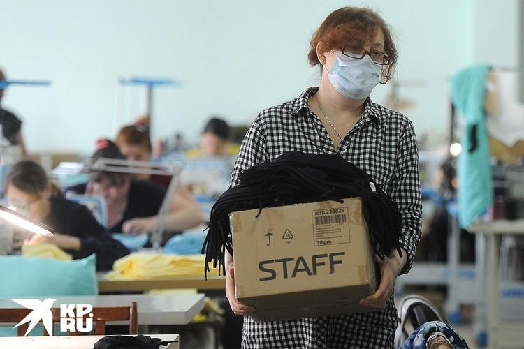Предприниматели оказались в непростой ситуации: зарплаты платить надо, а производство остановлено.