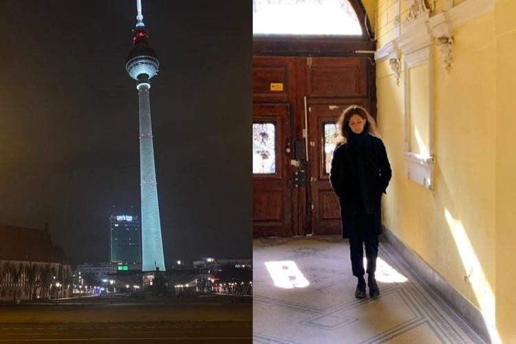 В Берлине можно гулять одной или максимум вдвоем. Фото предоставлены Мариной Петровой