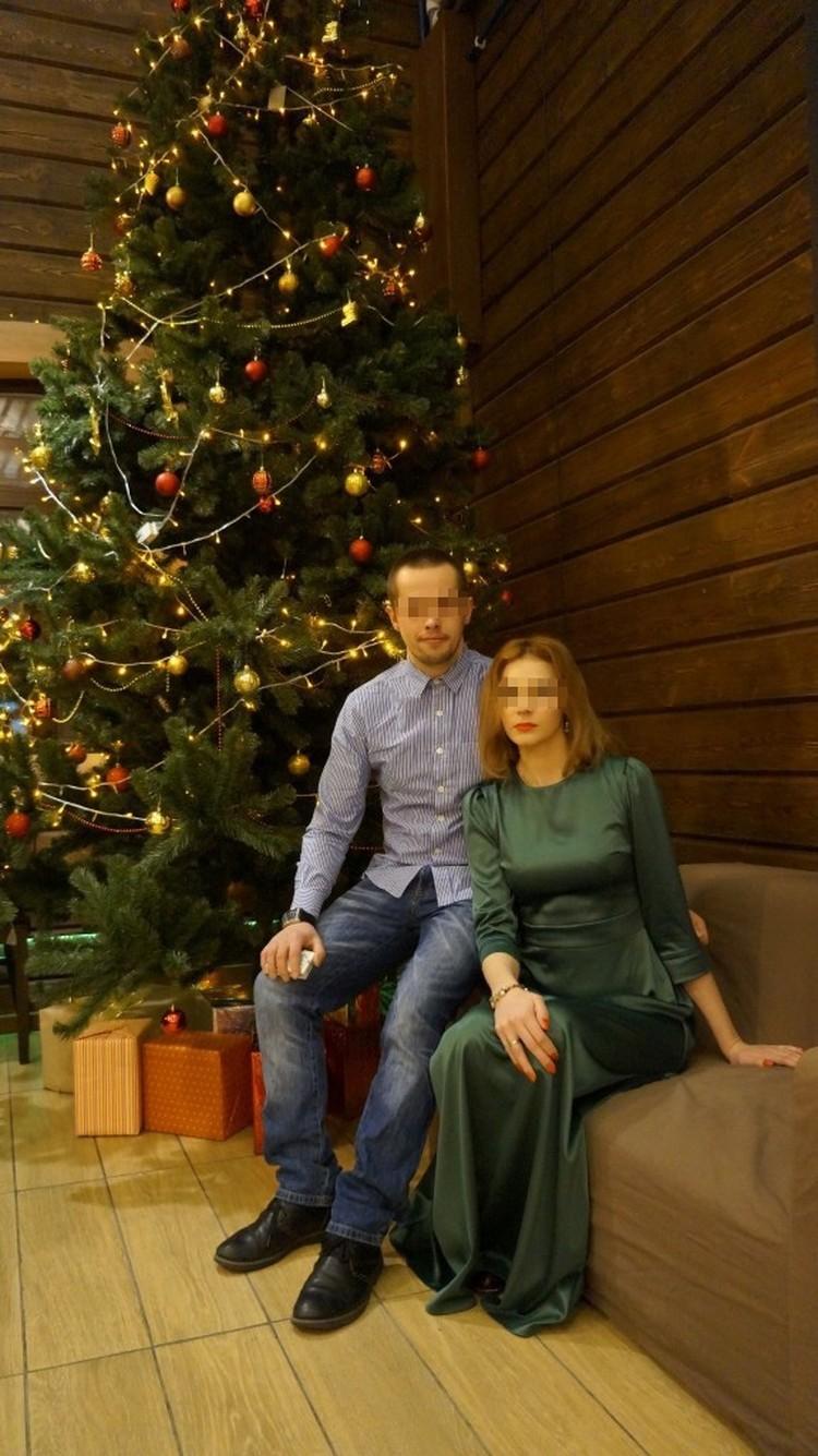 Светлана и ее муж. Фото: соцсети.
