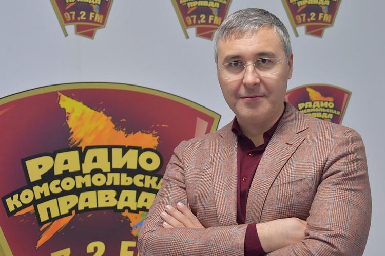Министр высшего образования и науки Валерий Фальков.