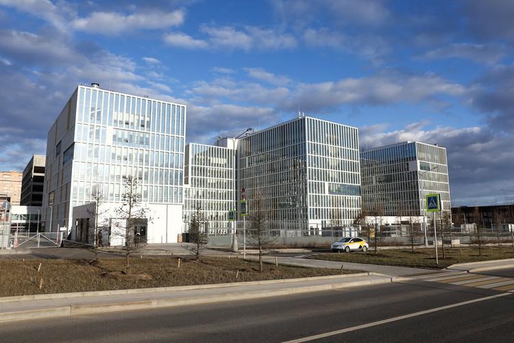 Больница в Коммунарке, где находятся пациенты с подозрением на коронавирус. Фото: Кирилл Зыков / АГН Москва