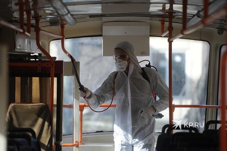 В Свердловской области зафиксировано 33 случая коронавируса
