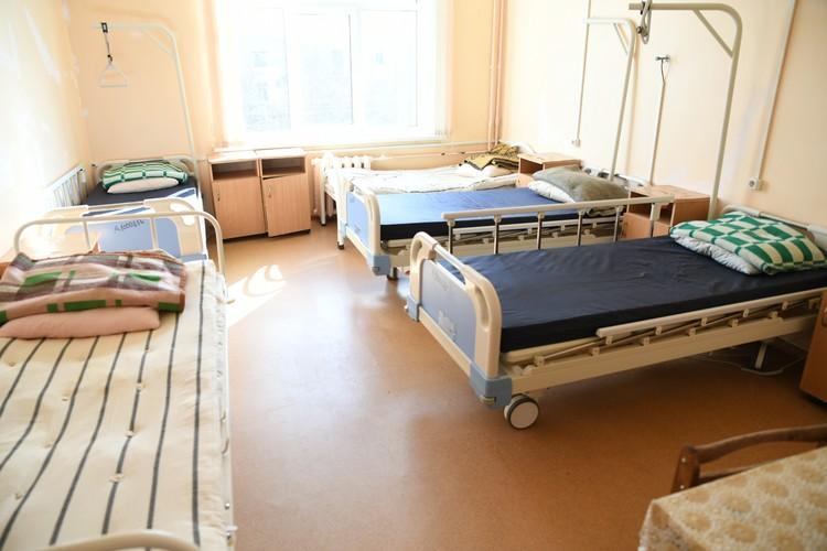 Боксы инфекционного отделения Калининской центральной районной клинической больницы. Фото: ПТО