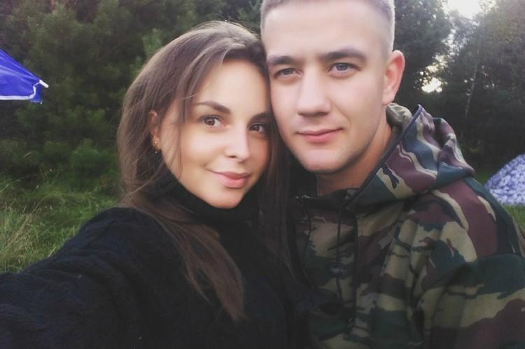 Супруги Табунова недавно сыграли свадьбу.
