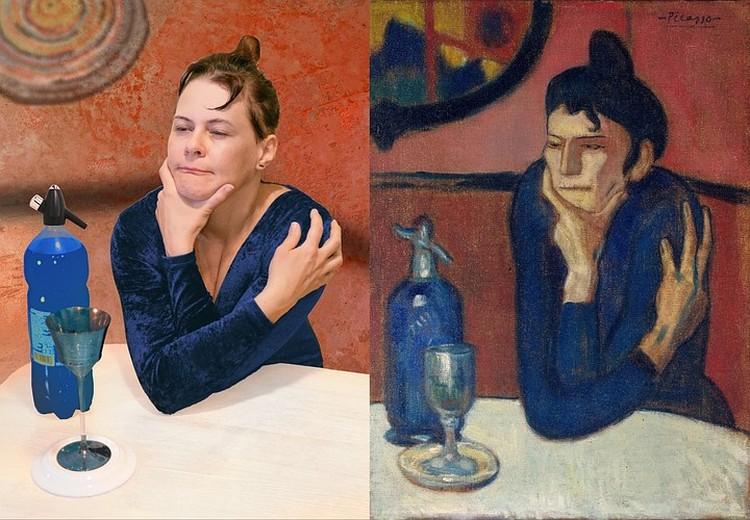 """Популярность """"Любительницы абсента"""" Пабло Пикассо вряд ли кто мог предугадать. Фото: Татьяна Дехта"""
