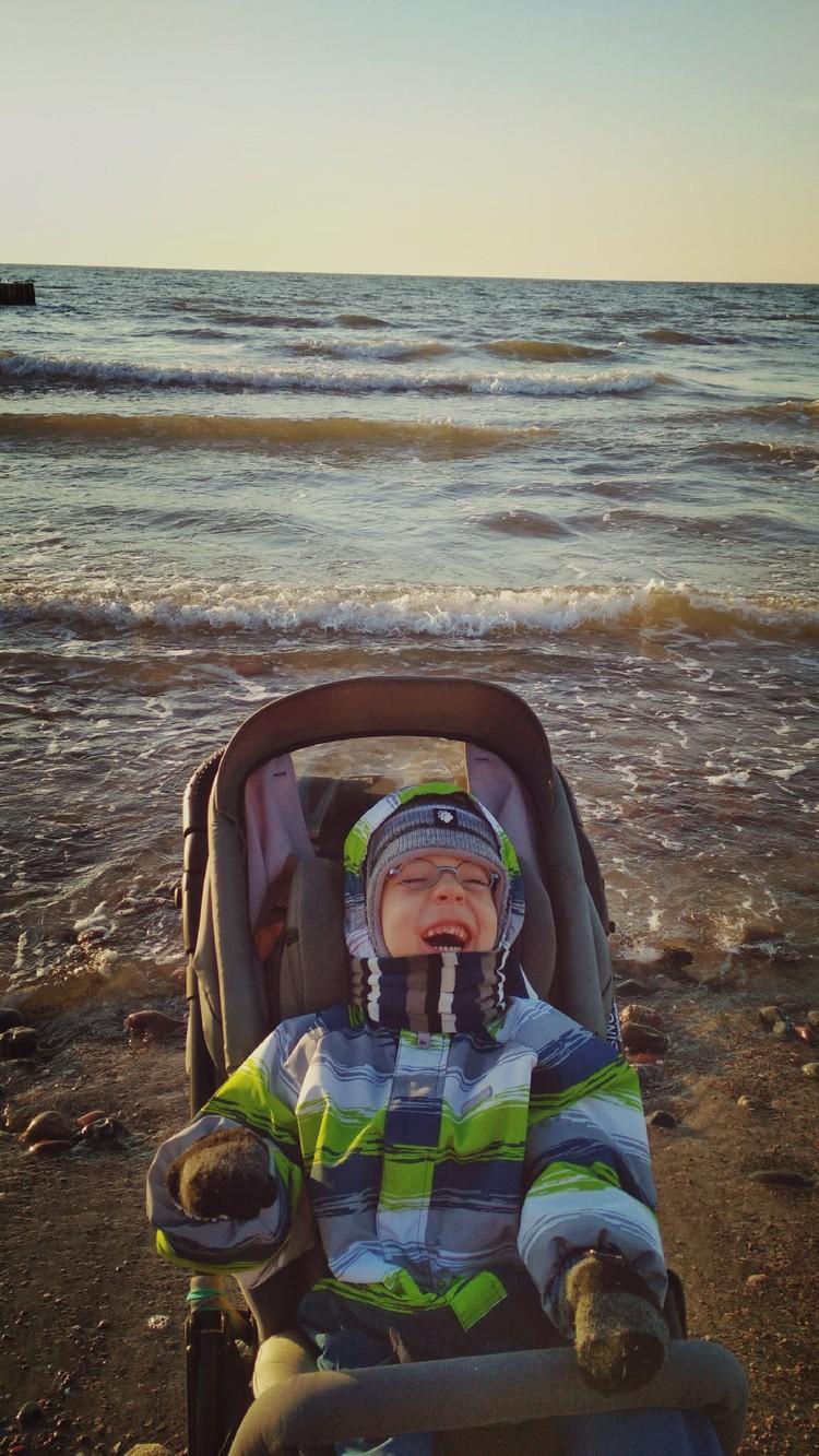 Ярославу и его маме очень понравилось в Калининградской области