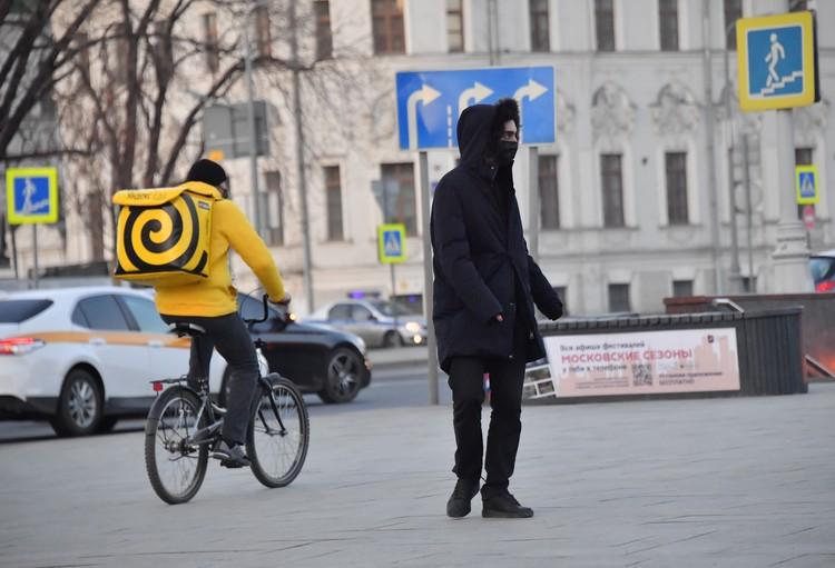 За время карантина москвичи привыкают к сервисам доставки