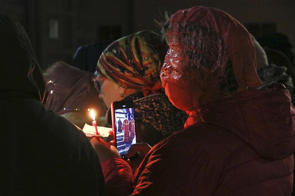Празднование Пасхи в Барнауле. Фото: Олег УКЛАДОВ