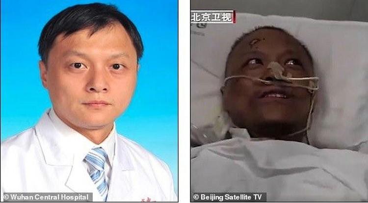 Доктор Йи победил COVID-19 после того, как был подключен к аппарату жизнеобеспечения. Фото: dailymail.co.uk