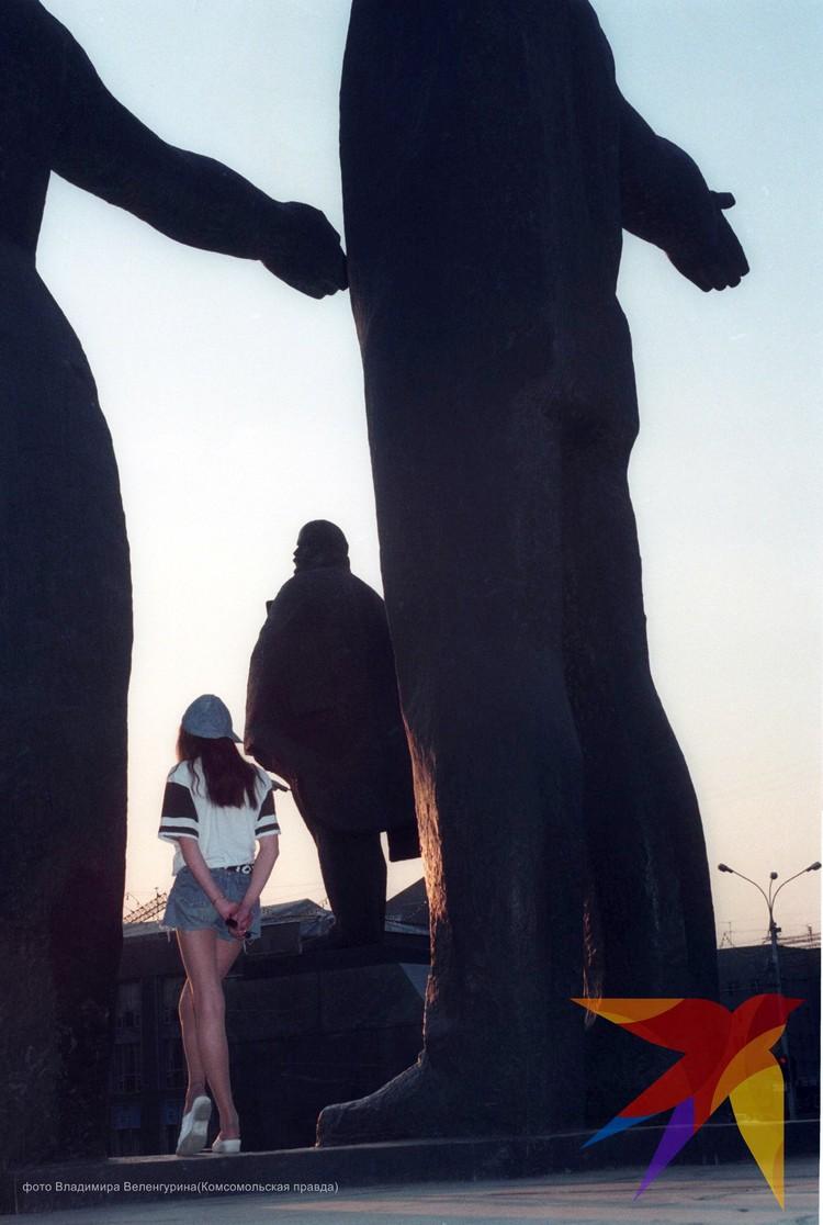 Ленин в Новоссибирске