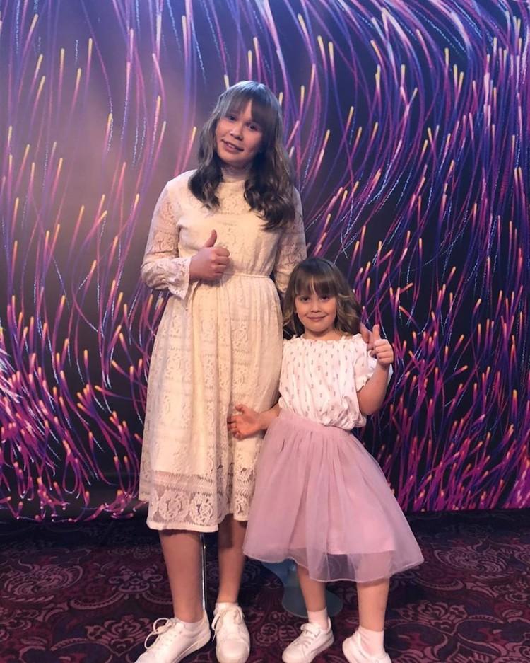 Маленкая сестренка и мама были главными болельщиками Сони. Фото: личный архив.