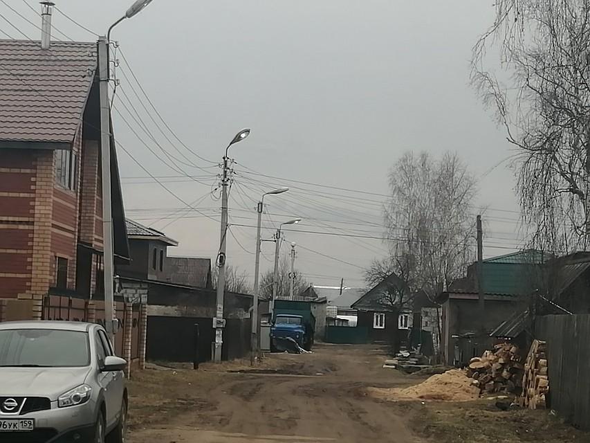 В микрорайоне Рейд в Краснокамске восстановили уличное освещение. Фото: соцсети.