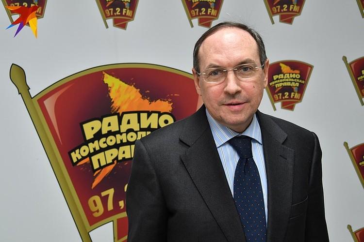 Глава Комитета Госдумы по образованию и науке Вячеслав Никонов.