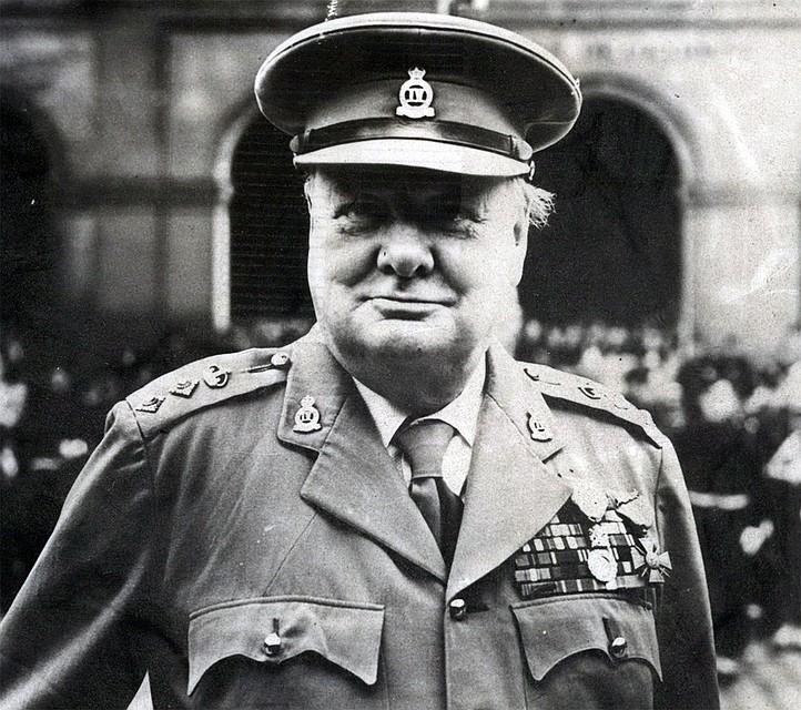 Британский премьер-министр Уинстон Черчилль в 1945 году. Фото: GLOBAL LOOK PRESS