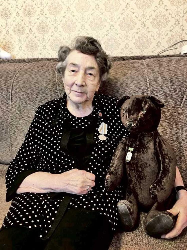 Летом 1941-го Елене Ланцовой было пять с половиной лет. Фото: Личный архив.
