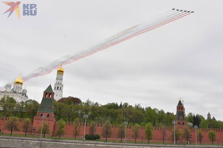 Москва точно запомнит этот Парад Победы.