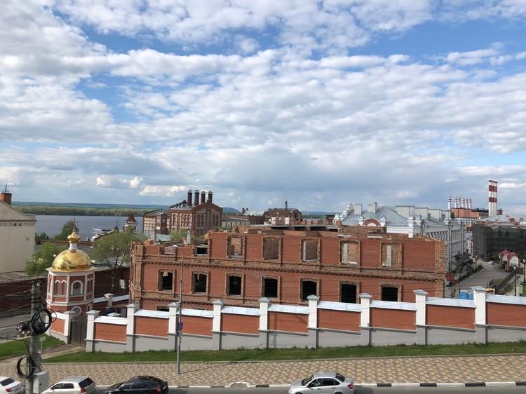 Хинштейн о здании на территории Иверского монастыря: Стройка сейчас точно остановлена