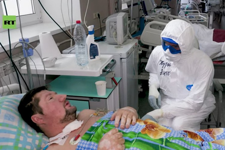 """Валерий не верил в коронавирус. Фото: кадр из фильма """"Выжить после ИВЛ""""/https://www.youtube.com/watch?v=Sd9Fqva1QQY"""