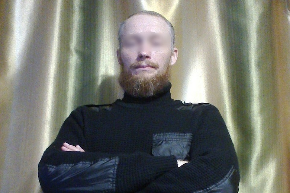 На снимке многодетный отец. Фото: личная страница главы семейства в сети.