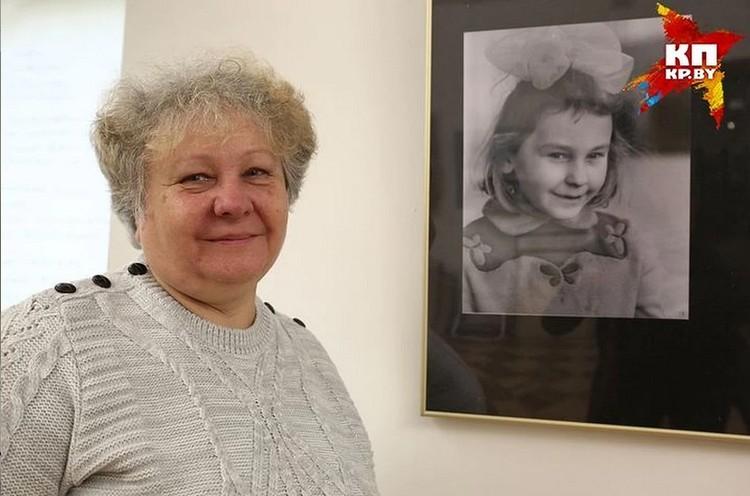 На снимке - Мария Мицкевич, дочь Михася Константиновича.