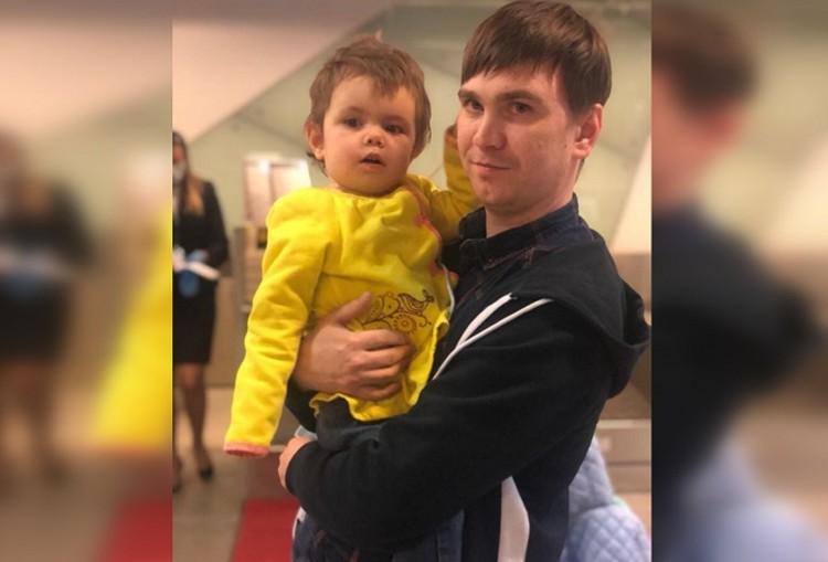 Ульяна Стяжкина и ее отец Виталий. Фото: соцсети