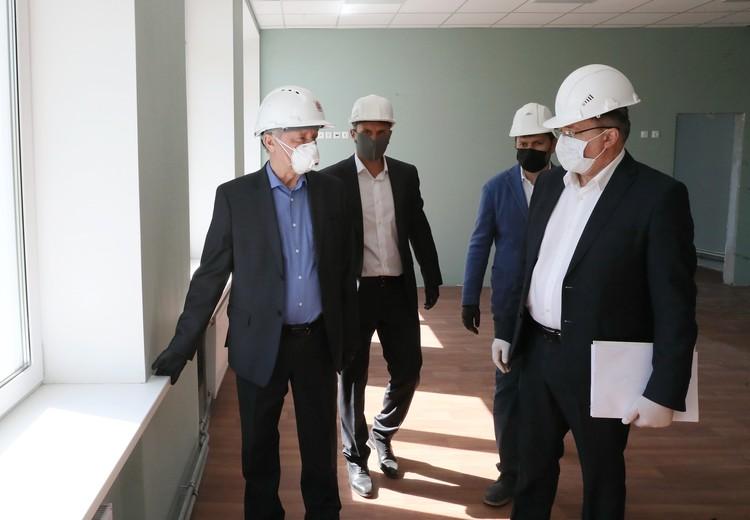 Ход работ по реконструкции губернатор держит под контролем. Фото: Администрация Санкт-Петербурга