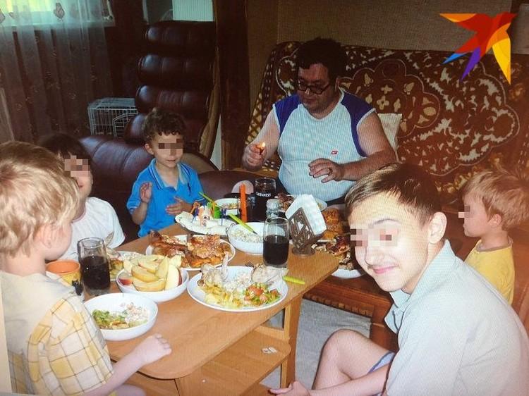 Михаил Германский и его семья. Фото: предоставлено семьей Германских