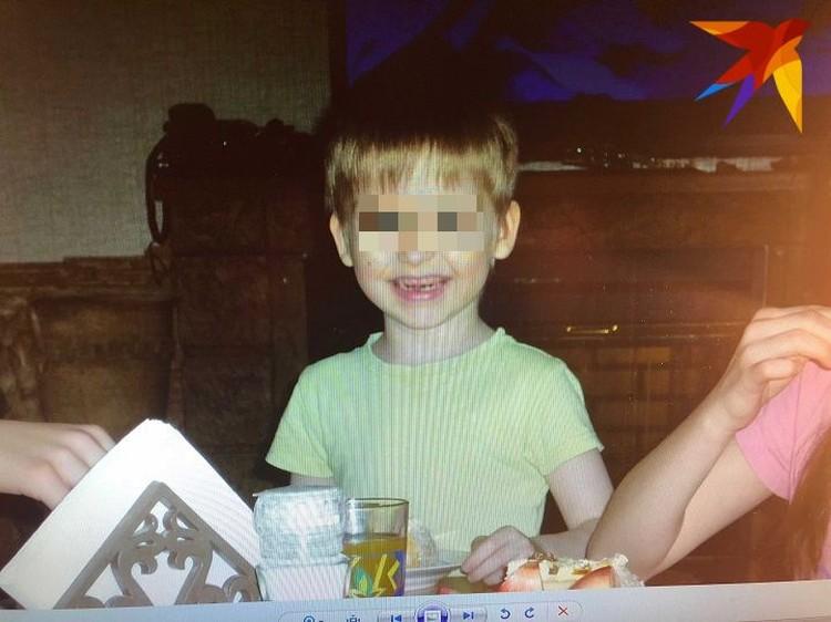 Никите было шесть лет. Гила и Михаил забрали его из детского дома вместе с младшим братом Димой. Фото: предоставлено семьей Германских