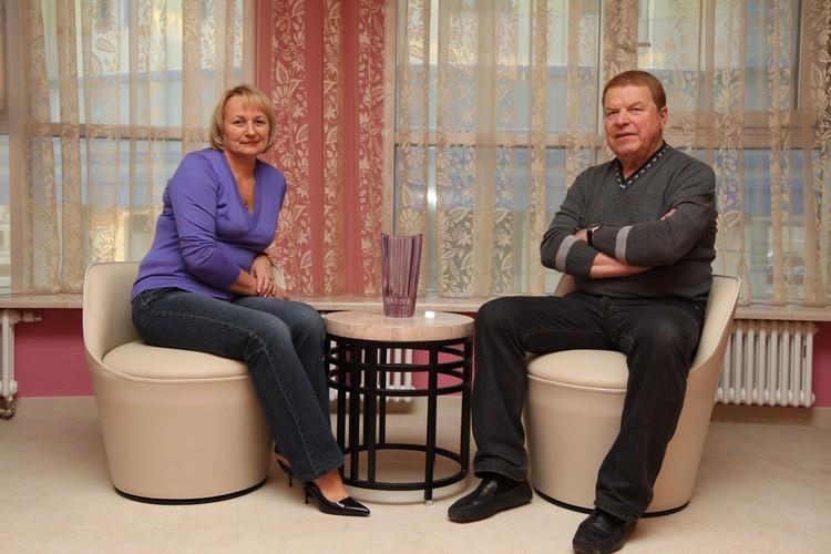 Михаил Кокшенов с женой Натальей