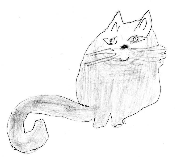 Кошка Мышка Вари Гавриной.