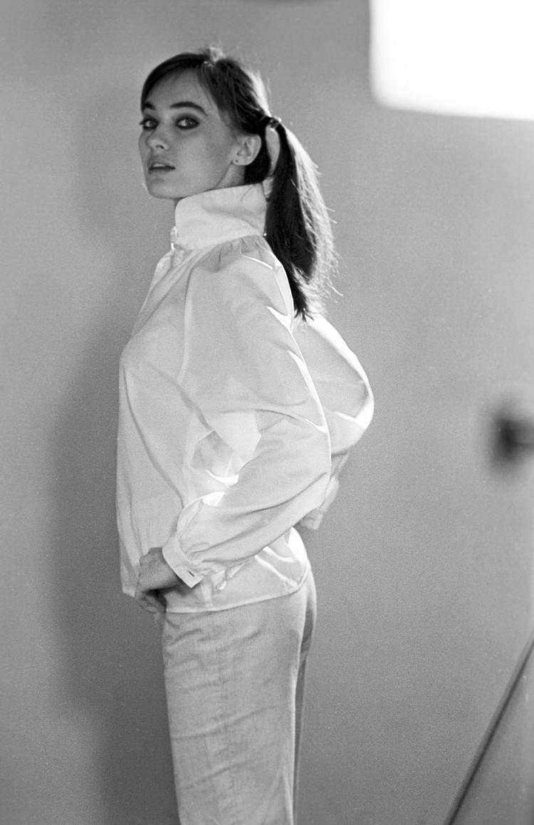 Параллельно с учебой в вузе Лариса Гузеева подрабатывала моделью.